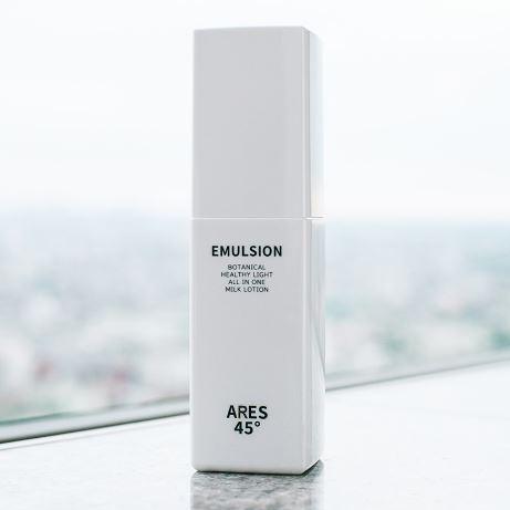 ARES45のオールインワン乳液の写真